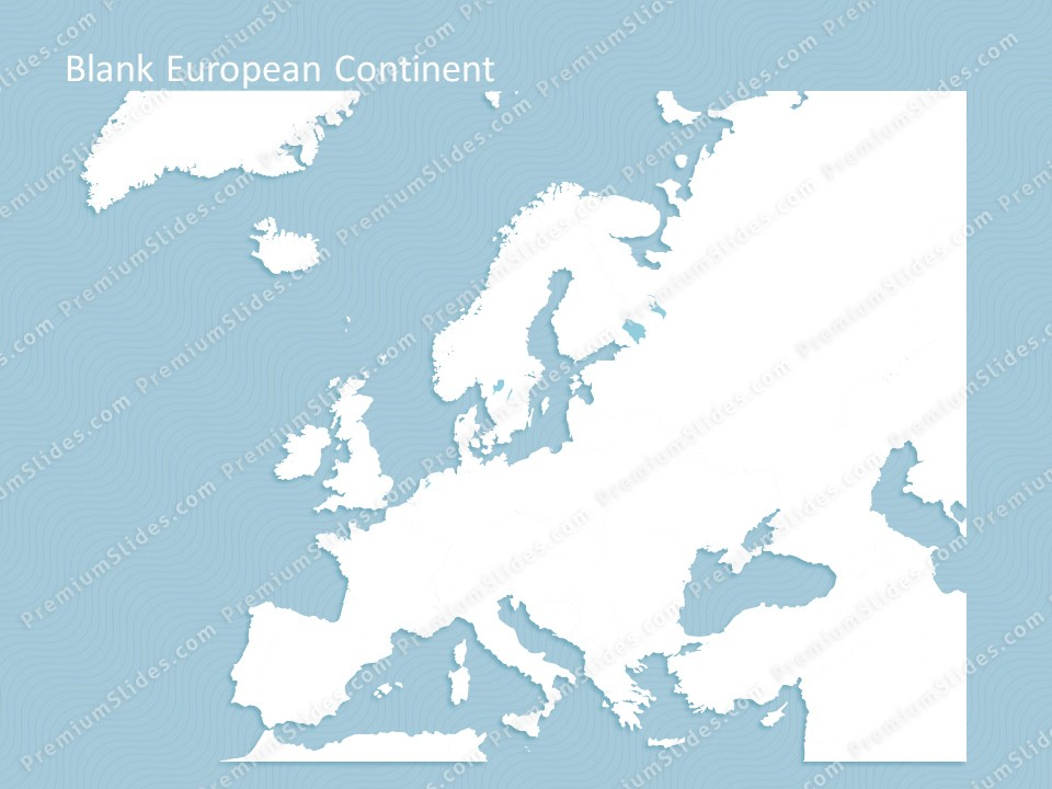 europe continent map editable map of europe continent