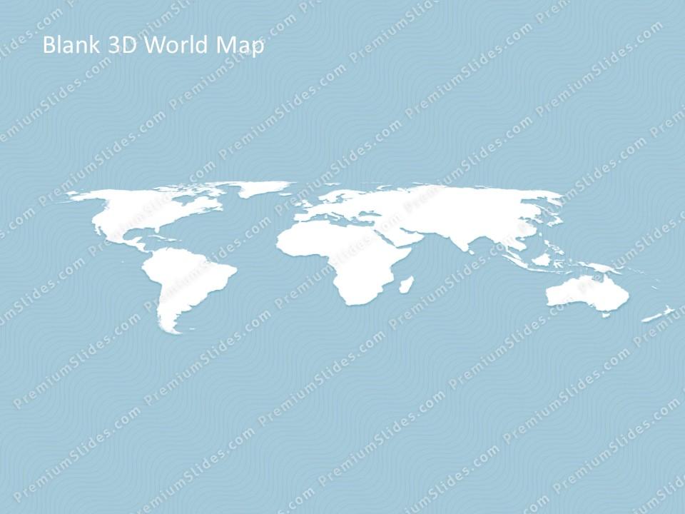 world map template for powerpoint premiumslidescom