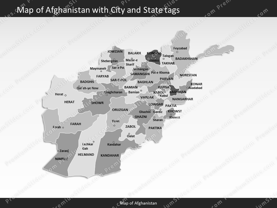 powerpoint map afghanistan Slides included in this package Afghanistan