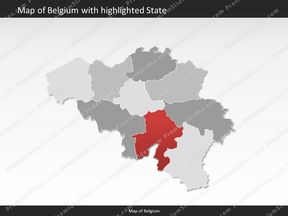 Belgium map editable map of belgium for powerpoint download powerpoint map belgium slides included in this package gumiabroncs Image collections