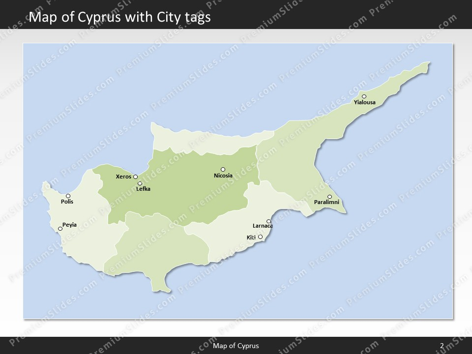 Cyprus map editable map of cyprus for powerpoint download powerpoint map cyprus slides included in this package gumiabroncs Image collections