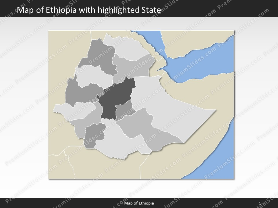 Ethiopia map editable map of ethiopia for powerpoint download powerpoint map ethiopia slides included in this package gumiabroncs Image collections