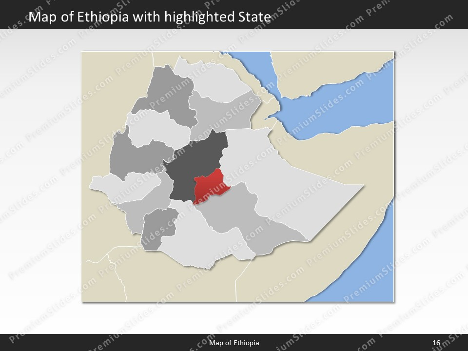 Ethiopia map editable map of ethiopia for powerpoint download powerpoint map ethiopia slides included in this package gumiabroncs Choice Image