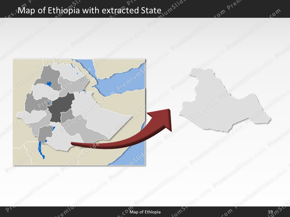 Ethiopia map editable map of ethiopia for powerpoint download powerpoint map ethiopia slides included in this package sciox Gallery