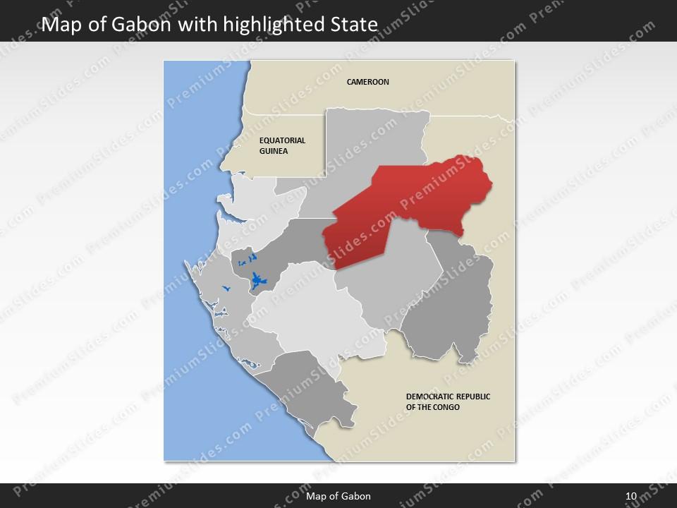Gabon World Map.Gabon Map Editable Map Of Gabon For Powerpoint Download