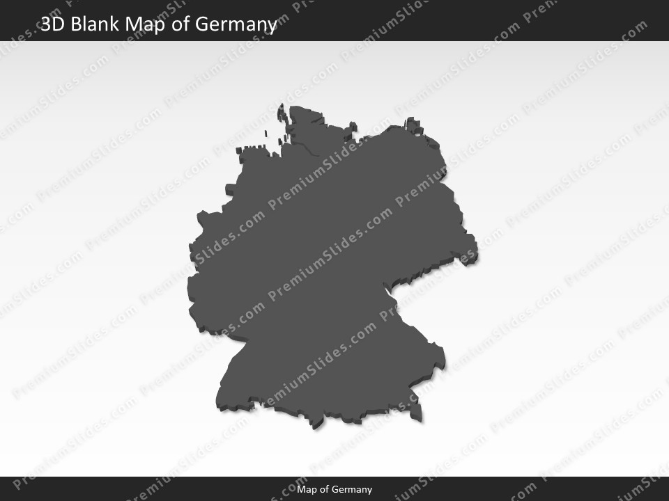 germany map editable map of germany for powerpoint