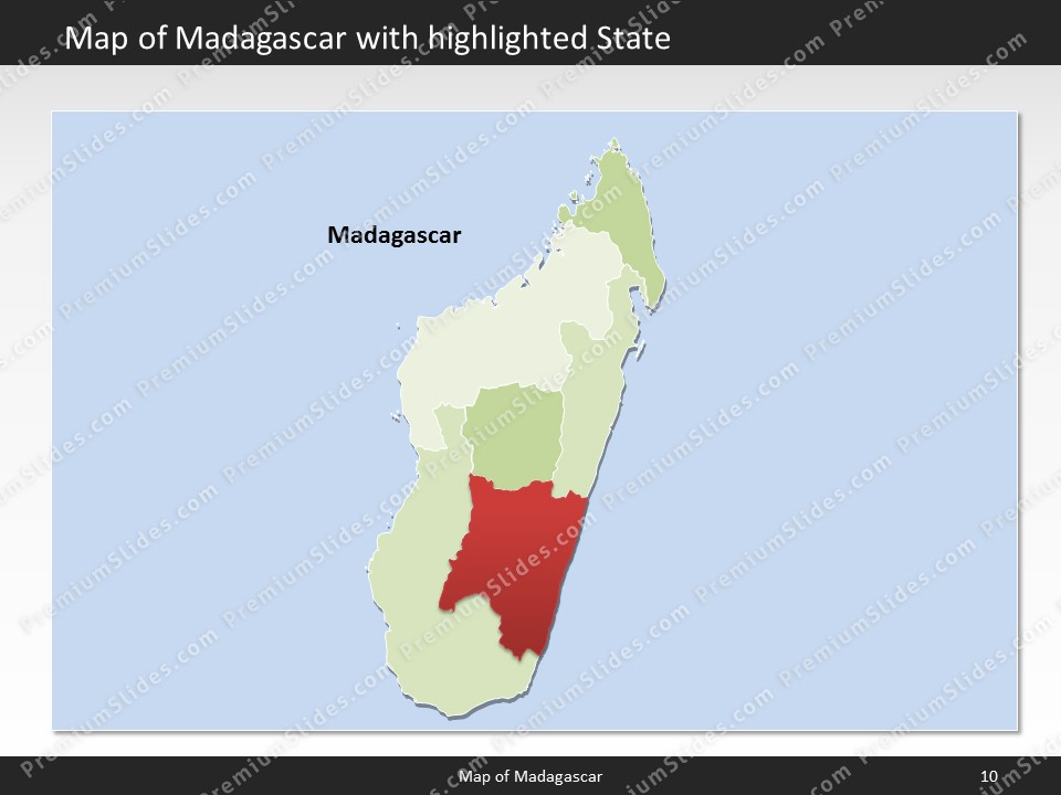 Kentucky County Map Editable%0A powerpoint map madagascar  Slides included in this package
