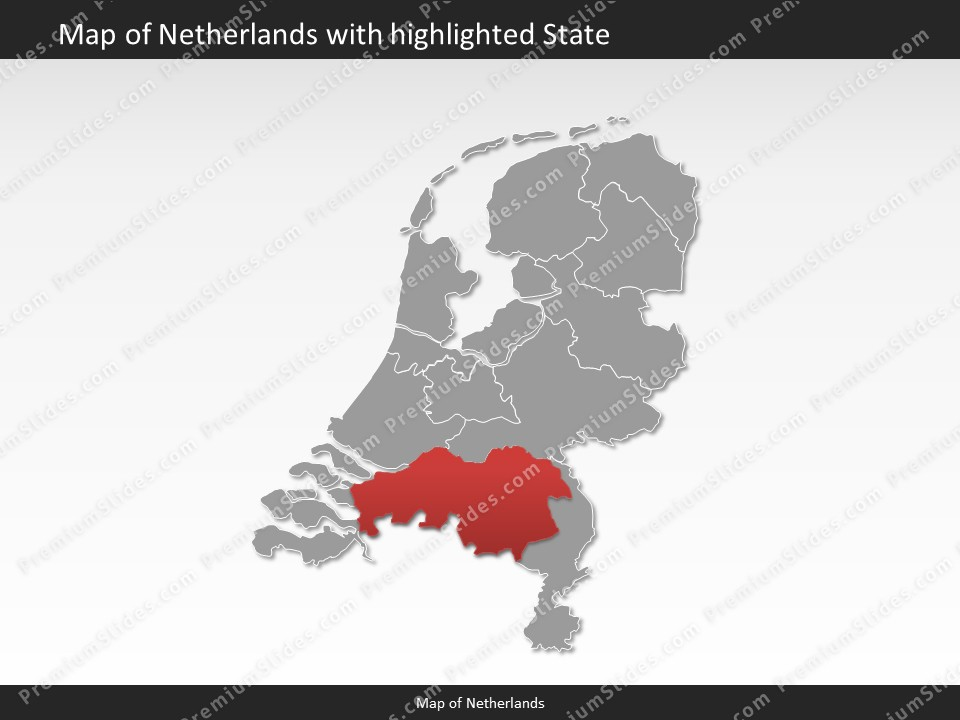 Netherlands Map Editable Map of Netherlands for PowerPoint