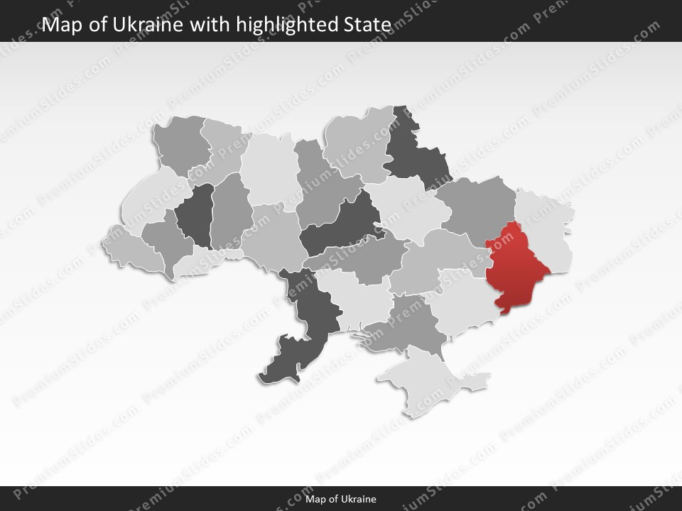 Ukraine map editable map of ukraine for powerpoint download powerpoint map ukraine slides included in this package toneelgroepblik Images