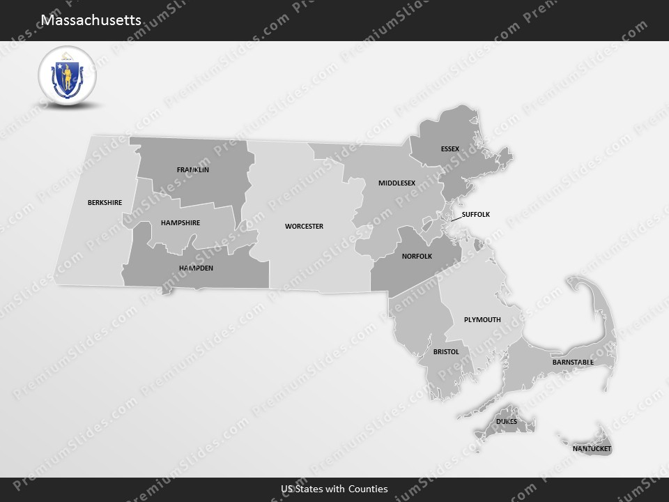 us state massachusetts county map template for microsoft