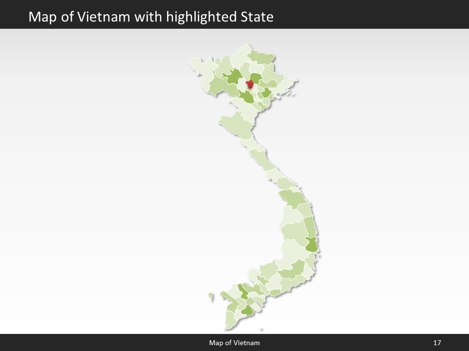Vietnam Map Editable Map Of Vietnam For Powerpoint Download