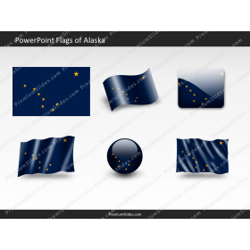 Free Alaska Flag PowerPoint Template