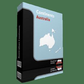 powerpoint map of australia
