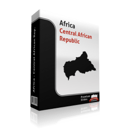 powerpoint map central african republic