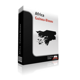 powerpoint map guinea-bissau