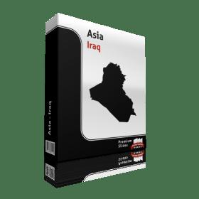 powerpoint map iraq