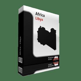 powerpoint map libya