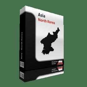 powerpoint-map-noth-korea
