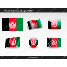 Free Afghanistan Flag PowerPoint Template