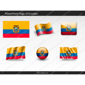 Free Ecuador Flag PowerPoint Template