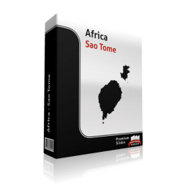 powerpoint map sao tome