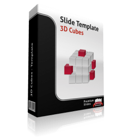 Premium PowerPoint 3D Cubes