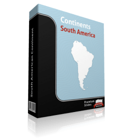 powerpoint map south america