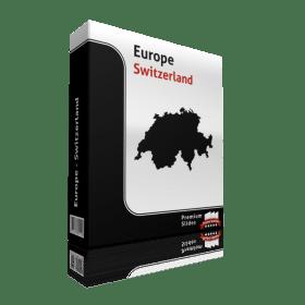 powerpoint map switzerland