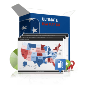 Ultimate US Map Kit
