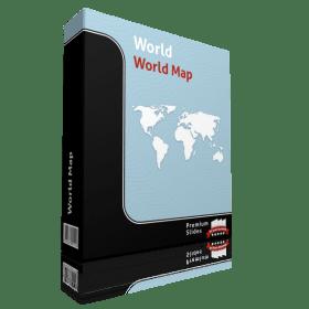 World Map Template