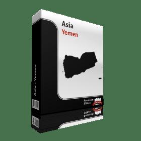 powerpoint map yemen