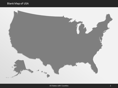 Editable US Map for Microsoft PowerPoint - Ultimate US Map ...