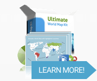 Ultimate World Map Kit