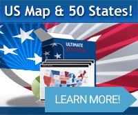 Editable US Map for Microsoft PowerPoint - Ultimate US Map Kit ... on